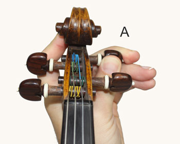 Tuning the A String