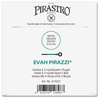 Evah Pirazzi Gold-Plated E String with Ball End
