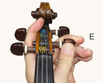 Tuning the E String