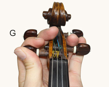 Tuning the G String