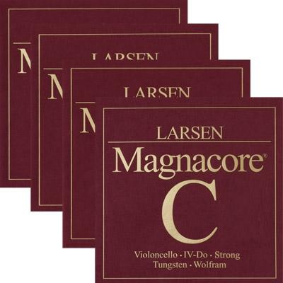 Brand New Larsen Magnacore Cello Strings Set 4//4 medium gauge